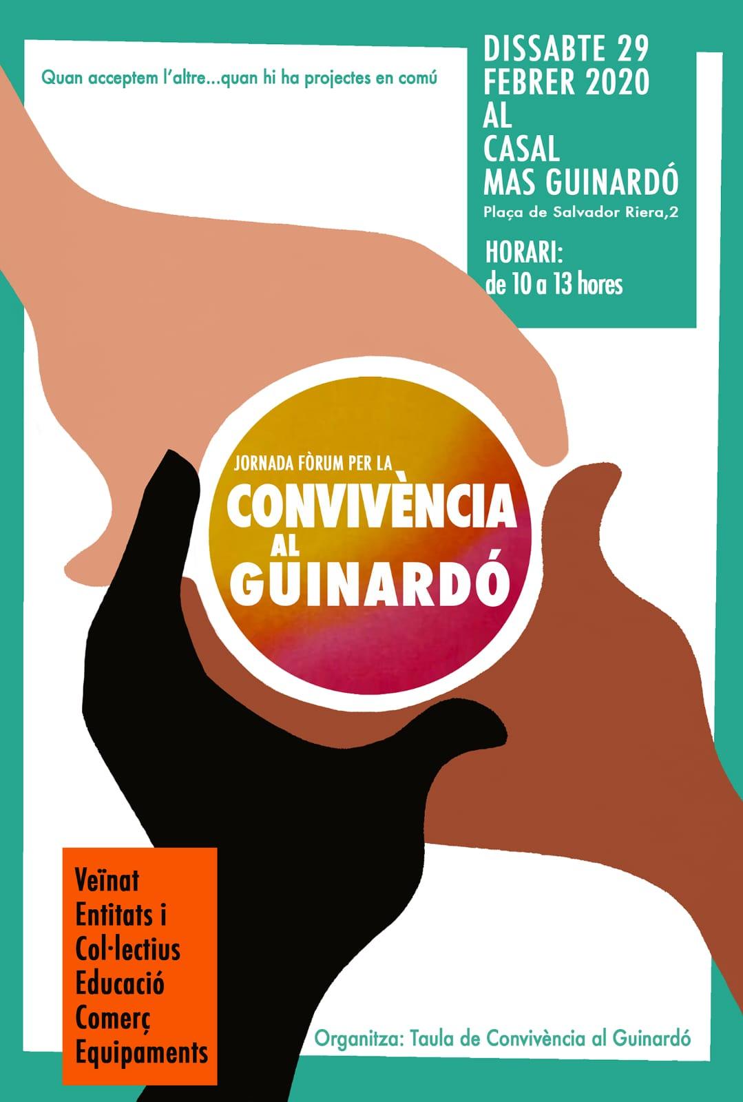 Jornada Fòrum per la Convivència al Guinardó